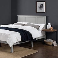 Beautiful King Platform Bed Frame (no boxspring needed) Arlington, 22206