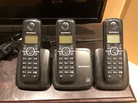 Black and gray Motorola home phones Whitby, L1R 2M8
