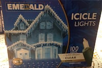 Outdoor Christmas lights 11 boxes new clear super bright Montréal, H1S 1X9
