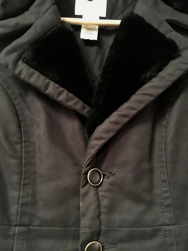 Women's Black Diesel Coat 1