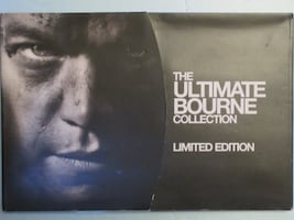 The Ultimate Bourne Collection Limited Edition DVD