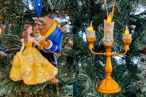 Beauty and the Beast Holiday Ornament Bundle (2-pc.)