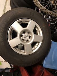 "Set of 4 16"" Nissan Xterra wheels and tires Baltimore, 21231"