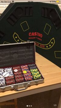 Poker Chips and Table Top