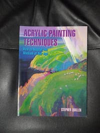 $5 - Acrylic Painting Techniques by Stephen Quille Newmarket