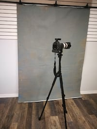 Custom Painted Backdrop for Photography Toronto