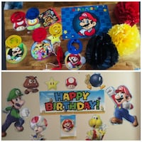 Super Mario party deco