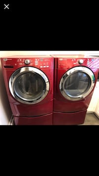 Free delivery! Maytag washer dryer with pedestals  Montréal, H3C 1N9