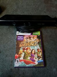 Xbox 360 kinect with game New Orleans, 70119