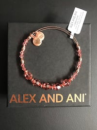 Brand New ALEX AND ANI Peony Beaded Bangle with Swarovski® Crystals Mississauga, L5B