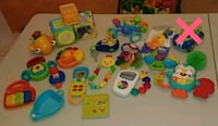 toddler's assorted plastic toys Saint-Charles-Borromée, J6E 2A5