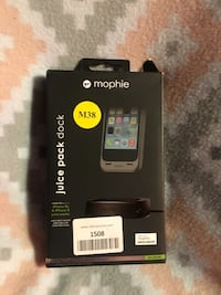 **Black Brand New Mophie Juice Pack Dock 5/5s! ** Denver, 80237