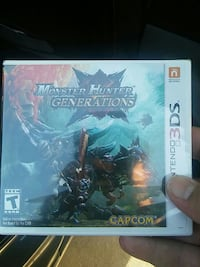 Monster hunter generations 3ds video game