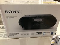 SONY AUDIO SYSTEM  ZS-RS650BT Mississauga