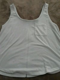 white scoop-neck tank top Caldwell, 83607