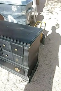 black wooden dresser with mirror Albuquerque, 87105