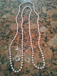 white and gray beaded necklace College Park, 20740
