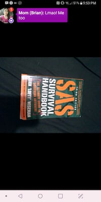 Survival handbook free with purchase