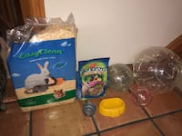 Assorted Hamster/Guinea Pig Accessories  London
