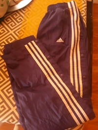 Purple and white adidas track pants Winton, 95388
