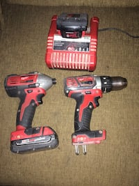 two red-and-black Milwaukee power tools Windsor, N9C 1P7