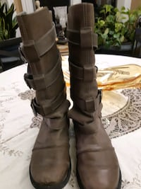 ALDOs strong & beautifull style leather boots,41 Richmond Hill, L4C 6E4