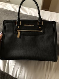 black Michael Kors leather tote bag Ajax, L1S 6Y7
