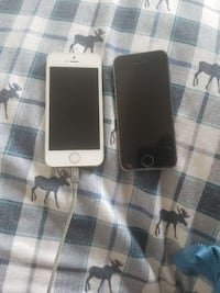 silver iPhone 5s with black case Bailey's Crossroads, 22041