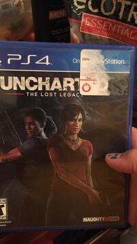PS4 Uncharted 4 game case Porterville, 93257