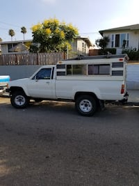 Toyota - Truck Long Bed  4wd  5sp manual w/ Camper San Diego, 92101