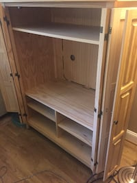 Wooden Armoire/TV Cabinet  38 km