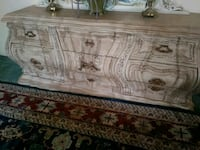 Rococo style dresser and 2 night stands Surrey