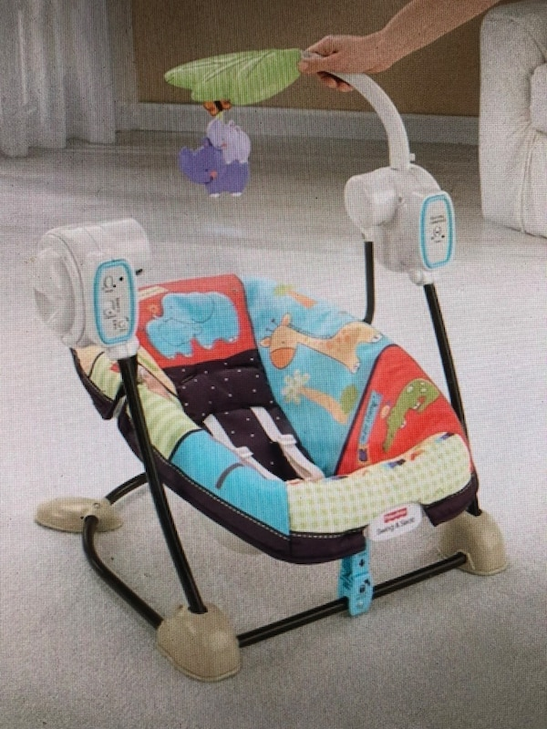 Fisher Price Spacesaver Swing And Seat Luv U Zoo
