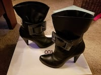 Soft fine Leather boots 7.5 Bakersfield, 93312