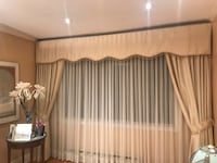 2 sets of curtains for 2 windows beautiful looks brand new Montréal, H4M 2J3