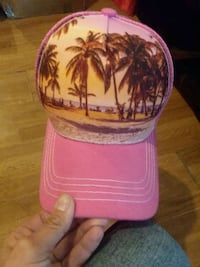 pink and white floral cap Kennewick, 99336