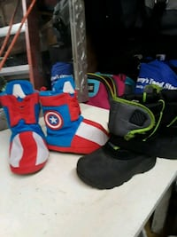 toddler's two pairs of shoes Tulsa, 74110