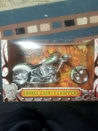 black and gray Harley-Davidson Motorcycle scale model Langley
