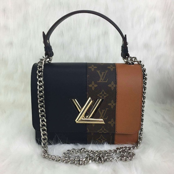 fb7d6870a90b Used women s black and brown louis vuitton leather bowler bag for ...