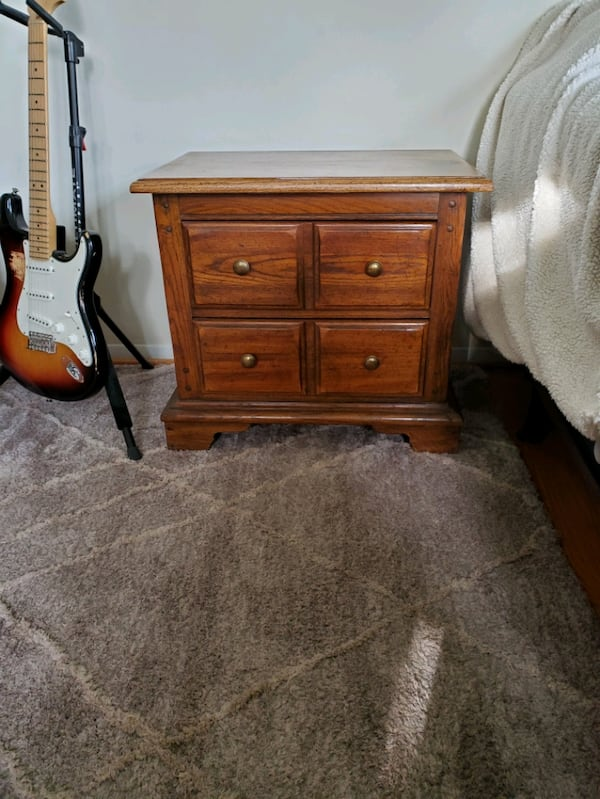 Antique Wooden Night Stands  0