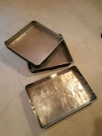 3 Large Industrial Oven pans