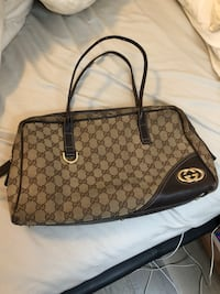 Used authentic Gucci top handle handbag New York, 10002