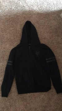 Size small all black Zoo York jacket  Clovis, 93611