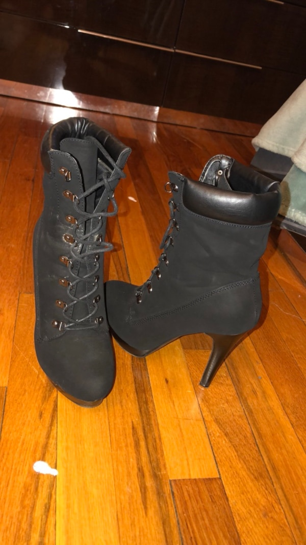 f72154b093d Used Black high heel booties for sale in Boston - letgo