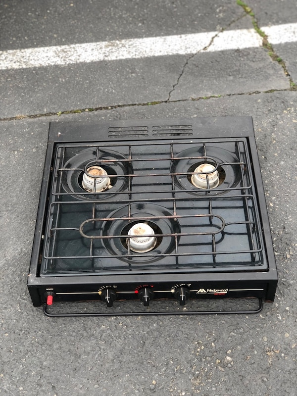 Rv Propane Stove >> Used Atwood Rv Propane Gas 3 Burner Stove Top Range For Sale In