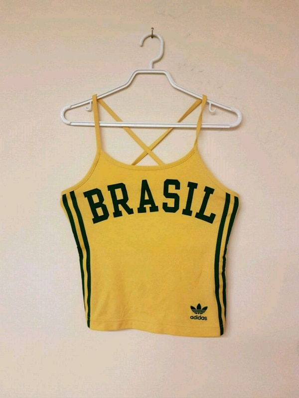 3ad69066ba43f Used Vintage ADIDAS BRAZIL 70 s style top for sale in Ottawa - letgo