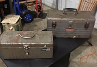 Old metal Toolboxes with trays Columbia, 38401