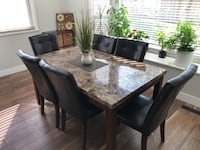 Going cheap Dinning table set Surrey, V3S 6A2