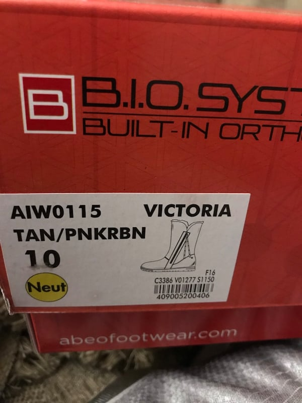 Abeo boots size 10  3