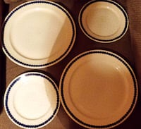 """$ REDUCED/SLASHED ESTATE SALE!  MINT Genuine Hand Made Polish Pottery 7"""" Plate/Saucer & 10"""" Plate Newmanstown"""